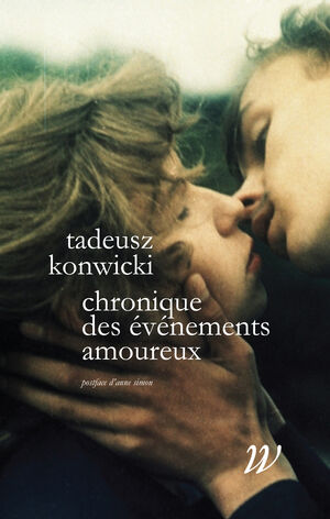 Chronique des événements amoureux